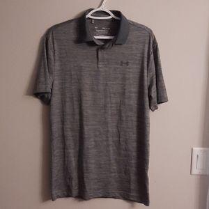 UA golf shirt